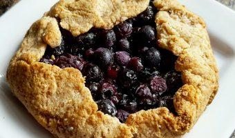 Recipe: Blueberry galette