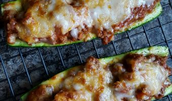 Quick & simple Italian zucchini boats