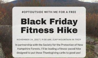 OptOutside with me on Black Friday!