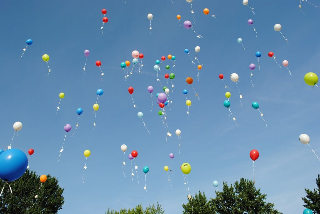why balloon releases dont honor your loved one the way you think